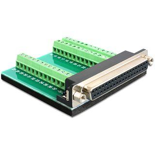 Delock Adapter Terminalblock 39Pin -> D-Sub37 Buchse