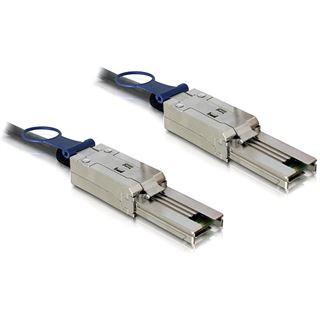 (€44,90*/1m) 1.00m Delock SAS Anschlusskabel SFF-8088 Stecker