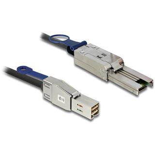 (€33,95*/1m) 2.00m Delock SAS 6Gb/s Anschlusskabel SFF-8644 Stecker auf SFF-8088 Stecker Schwarz