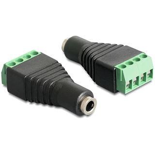 Delock Audio Adapter 3.5mm Klinke Buchse auf 4pin Terminalblock