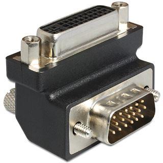 DeLOCK Adapter DVI 24+5 Buchse > VGA Stecker 90° gewinkelt