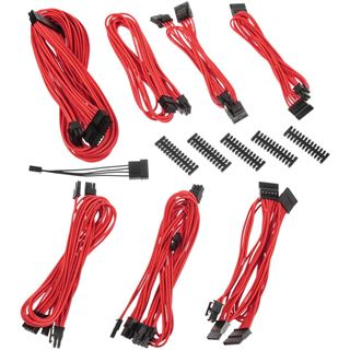 BitFenix Alchemy 2.0 PSU Cable Kit BQT-Series SP10 rot