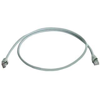 (€27,60*/1m) 0.25m Telegärtner Cat. 6a Patchkabel S/FTP RJ45 Stecker auf RJ45 Stecker Grau halogenfrei