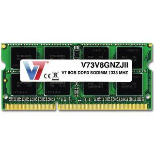 8GB V7 V73V8GNZJII DDR3-1333 SO-DIMM CL9 Single