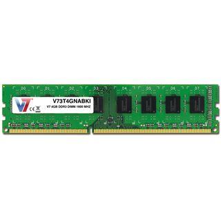 4GB V7 V73T4GNABKI DDR3-1600 DIMM CL11 Single