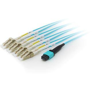 equip MPO FanOut-Kabel OM4 – 8x LC mit MTP Stecker 20,0USConne