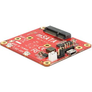 Delock Konverter Raspberry Pi USB 2.0 zu mSATA