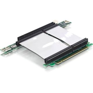 Delock PCIe-Riser-Karte x16 1U PCIe Kab.