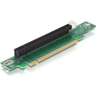 Delock PCIe-Riser-Karte x16 90° gewinkelt f.1U