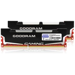 8GB GOODRAM GL1866D364L9A DDR3-1866 DIMM CL9 Dual Kit