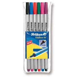 Pelikan Fineliner 96 6St 6 Farben