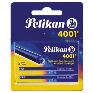 Tinte Pelikan GTP/5/2/B Tintenpatronen Königsblau 2Etuis