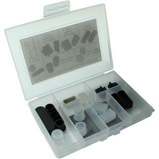 InLine Staubschutz-Set, für Multimedia (HDMI, DVI, Cinch, Antenne), 14-teilig