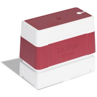 Brother Stempel 27x70 mm rot