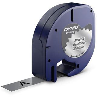 DYMO LetraTag Band 12mm x 4m silber