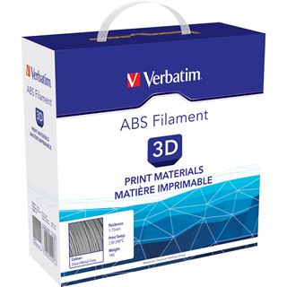 VERBATIM Filament ABS 1,75mm silber