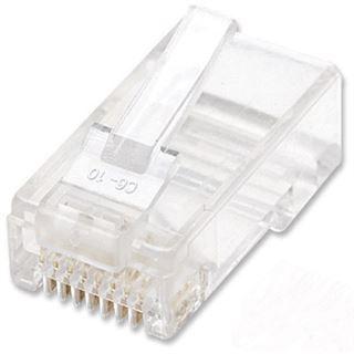 Intellinet RJ45 Modularstecker Cat6 UTP 100er Pack
