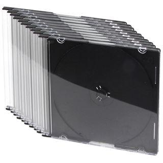 LogiLink Leerhülle CD 10-SC schwarz