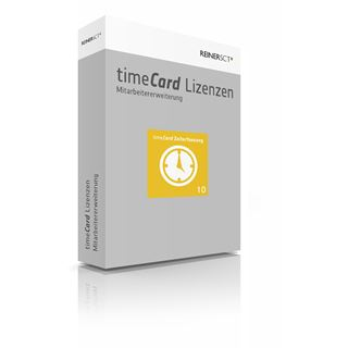 Reiner SCT timeCard 6 ZuKo Erw. 10MA
