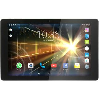 """10.1"""" (25,65cm) XORO TelePAD 10A3 4G LTE / WiFi / Bluetooth V4.0 16GB schwarz/grau"""