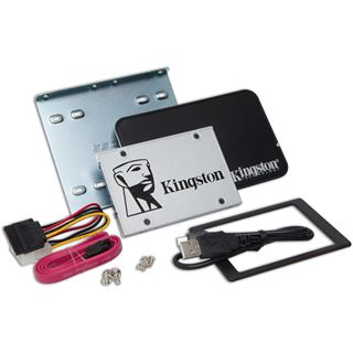 "240GB Kingston SSDNow UV400 Upgrade Kit 2.5"" (6.4cm) SATA 6Gb/s TLC Toggle (SUV400S3B7A/240G)"