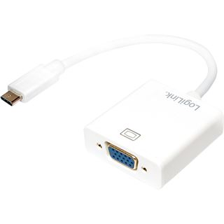 Logilink USB 3.1 Adaptar, USB Type-C to VGA