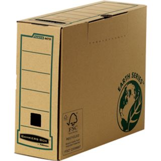 Fellowes BANKERS BOX EARTH Archiv-Schachtel, braun, (B)100mm