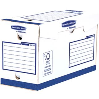 Fellowes BANKERS BOX Basic Archiv-Schachtel Heavy Duty A4+ (4472802)