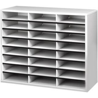 Fellowes Post- und Broschüren Manager, 24 Fächer horizontal