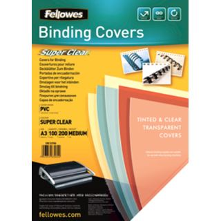 Fellowes Deckblatt, DIN A3, PVC, transparent, 0,20 mm