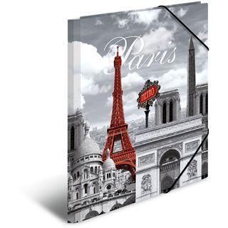 "Herma Eckspannermappe ""Trendmetropolen Paris"", PP, A4"