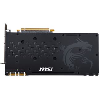 8GB MSI GeForce GTX 1080 GAMING X 8G Aktiv PCIe 3.0 x16 (Retail)