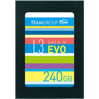 "240GB TeamGroup L3 EVO 2.5"" (6.4cm) SATA 6Gb/s TLC Toggle"