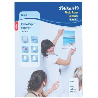 Pelikan Laser-Foto-Papier Superior, DIN A4, 140 g/qm