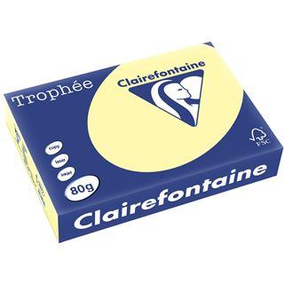 Clairalfa Multifunktionspapier Troph'e, A4, 80g/qm, gelb