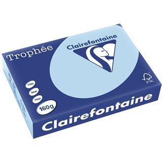 Clairalfa Multifunktionspapier Troph'e, A4, 160 g/qm,eisblau