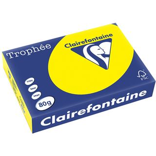 Clairalfa Multifunktionspapier Troph'e, A4, kanariengelb