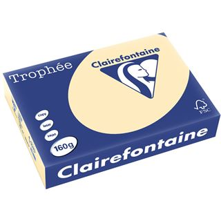 Clairalfa Universal-Papier Troph'e, A4, 160 g/qm, chamois
