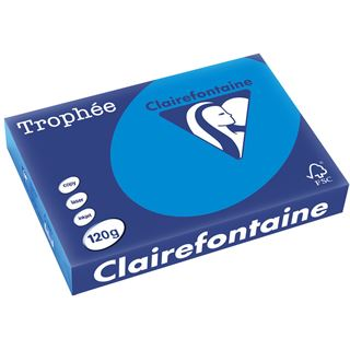 Clairalfa Universal-Papier Troph'e A4, 120 g/qm, karibikblau