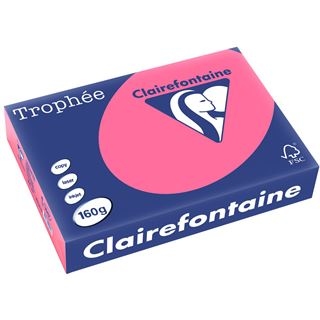 Clairalfa Multifunktionspapier Troph'e, A4, 160 g/qm, eosin