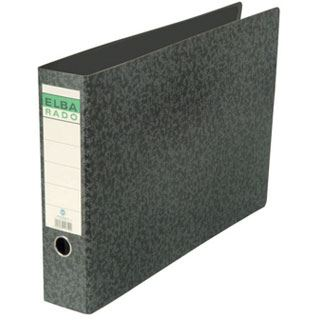 Elba Ordner rado - DIN A3 quer, Rückenbreite: 55 mm, schwarz