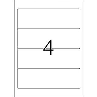 TOP STICK Ordnerrücken-Etiketten, 192 x 61 mm, weiß