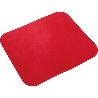 LogiLink Maus Pad, Maße: (B)250 x (T)220 mm, rot