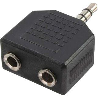 LogiLink Audioadapter, 3,5 mm Klinkenstecker - 2x 3,5 mm (CA1002)