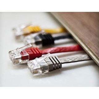 (€0,98*/1m) 5.00m ShiverPeaks Cat. 6 Anschlusskabel U/UTP RJ45 Stecker auf RJ45 Buchse Schwarz Slim