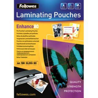 Fellowes Laminierfolientasche, vorgestanzt, 228 x 303 mm