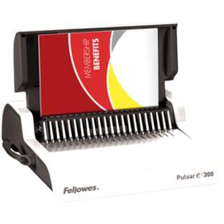 Fellowes Elektrisches Plastikbindegerät Pulsar E 300