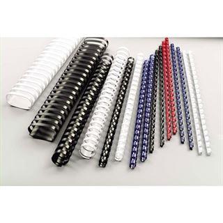 GBC Plastikbinderücken CombBind, DIN A4, 10 mm, schwarz