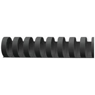 GBC Plastikbinderücken CombBind, DIN A4, 19 mm, schwarz