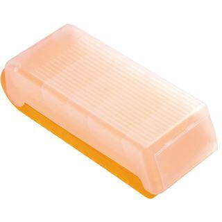 helit Lernkartei BeeBox, A8, Unterteil: orange-transluzent